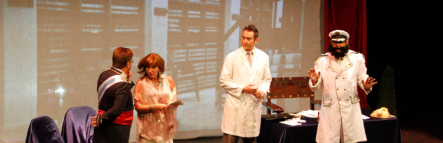 El Grupo de Teatro ofrece una nueva representación de 'Calamar' con motivo de Santa Teresa-media-1