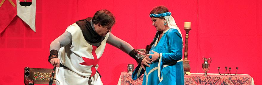 El Grupo de Teatro estrena '...No tiene enmienda' en el Isabel la Católica-media-1