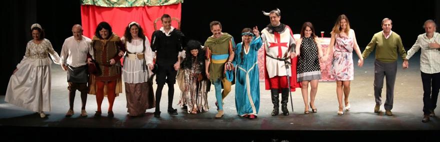 El Grupo de Teatro continúa con su gira solidaria de '...No tiene enmienda'-media-1