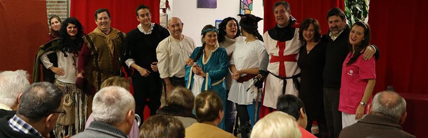 El Grupo de Teatro ofrece una función solidaria para los mayores de la residencia Oasis-media-1