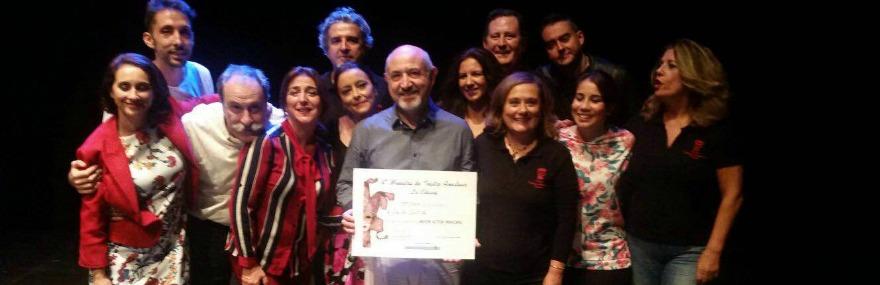 El Grupo de Teatro se lleva el premio al Mejor Actor Principal en la IV Muestra de Teatro Amateur de La Chana-media-1