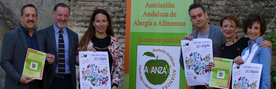 El Grupo de Teatro y AVANZAX presentan, durante la Semana Mundial de la Alergia, su próxima representación solidaria-media-1