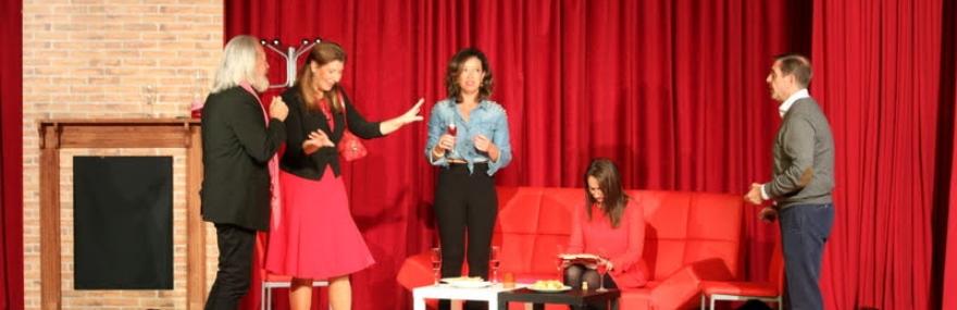 El Grupo de Teatro interpreta 'No tiene enmienda' en el V Ciclo de Teatro de Aficionados de Gójar-media-1