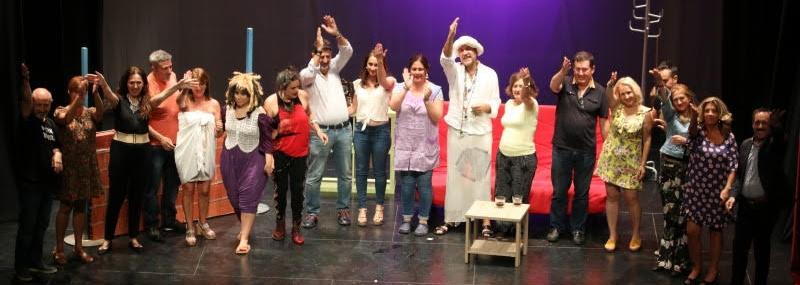 Baza acoge el cierre de temporada del Grupo de Teatro con una actuación a beneficio de Cáritas-media-1
