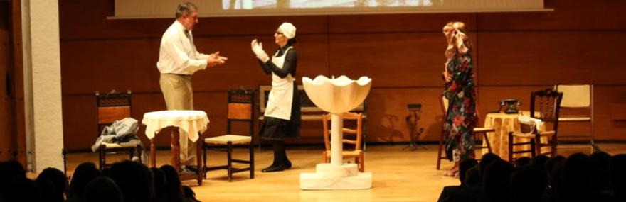 El Grupo de Teatro preestrena su nueva producción: 'Cien años con los Álvarez Quintero'-media-1