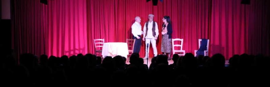 El Grupo de Teatro lleva a Gójar su nuevo montaje, 'Cien años con los Álvarez Quintero'-media-1