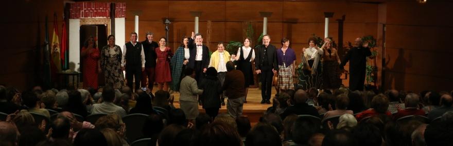 El Grupo de Teatro pone en escena 'Cien años con los Álvarez Quintero' a beneficio de GranaBip-media-1
