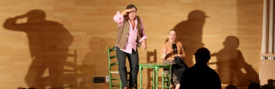Lleno absoluto en la última actuación del Grupo de Teatro en la Escuela de Ingeniería de Edificación-media-1